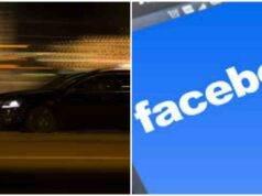 sfida social auto in corsa