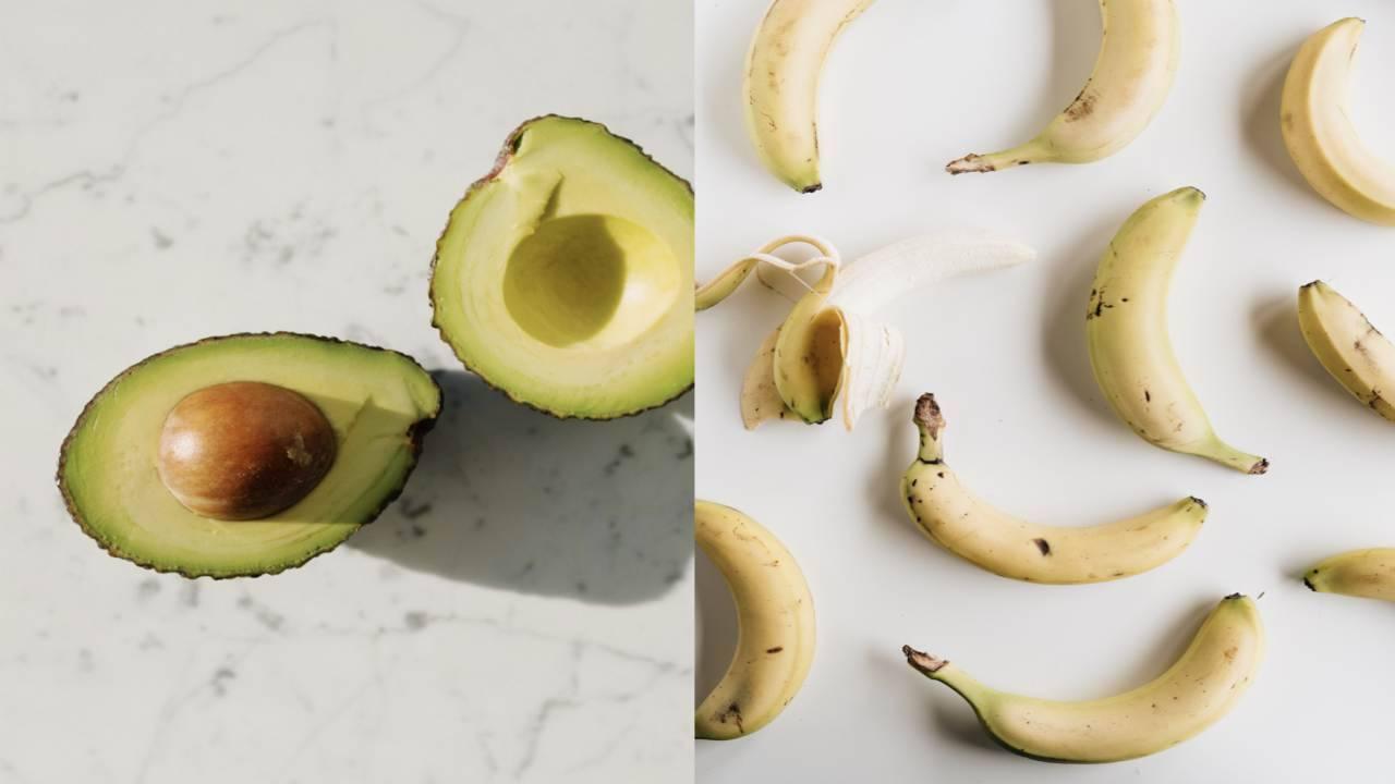 benefici nel mangiare avocado e banana