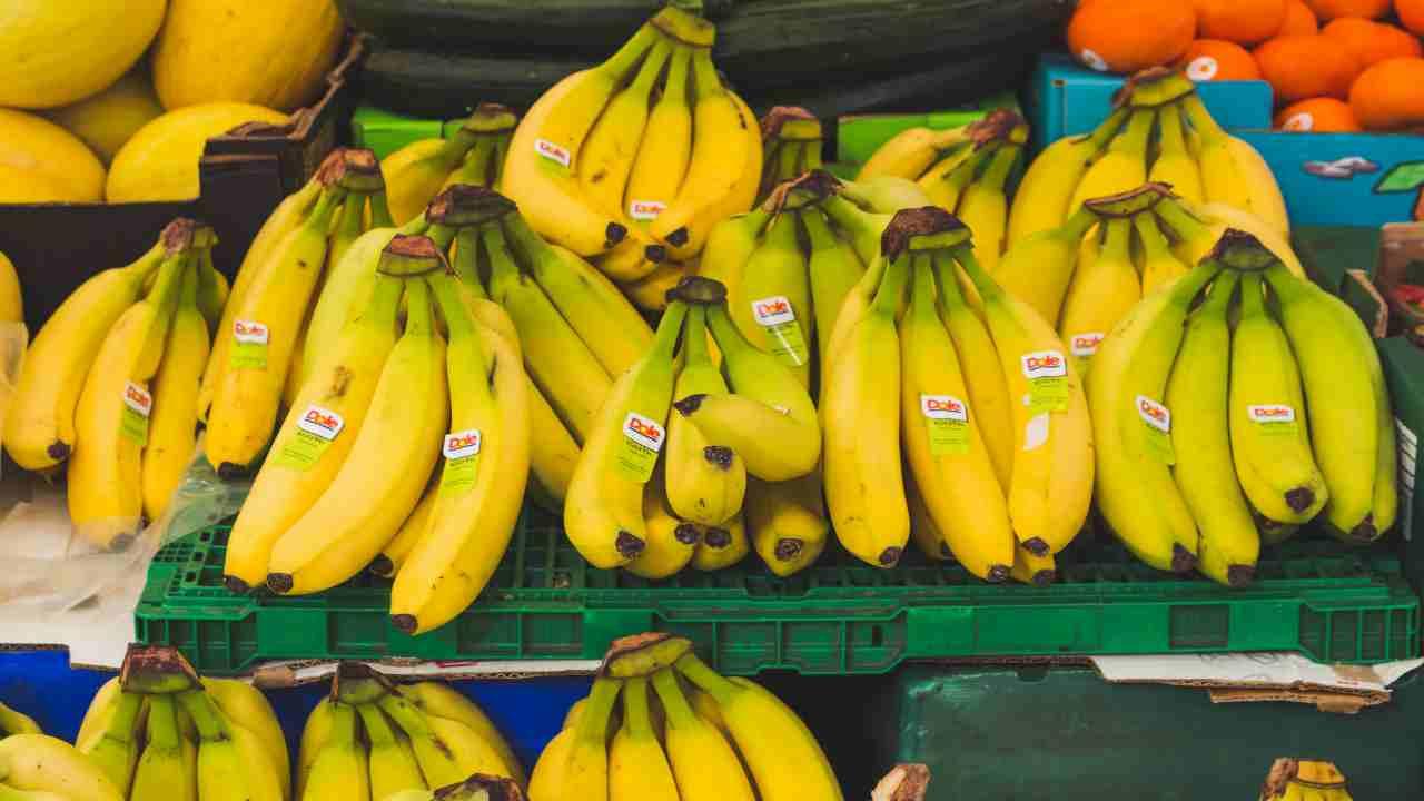banane con pesticidi