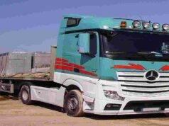 migrante travolto camion