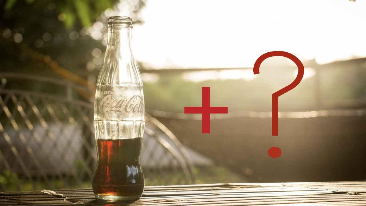 connubio tossico con coca cola
