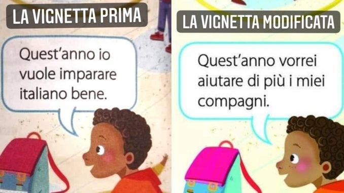 Libri razzisti: vignetta corretta