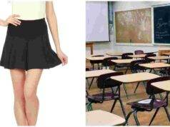 minigonna scuola protesta liceali