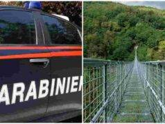 suicidio ponte sospeso Prato