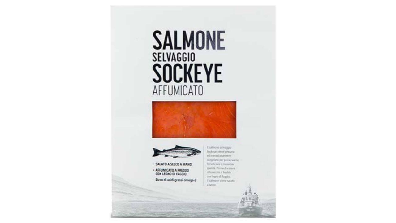 salmone sockey ritirato per listeria