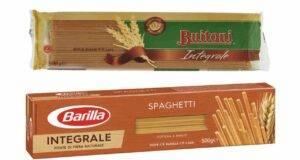 spaghetti integrali buitoni e barilla
