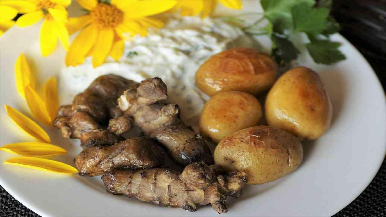 benefici del mangiare topinambur
