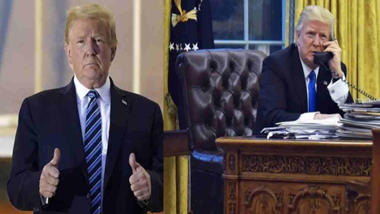 Donald Trump torna nello Studio Ovale