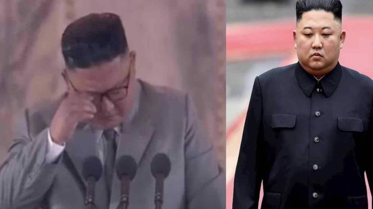 Kim Jong Un in lacrime