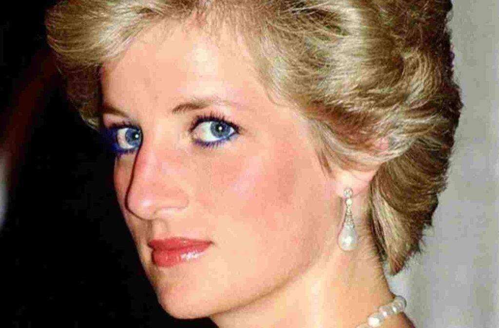 Lady Diana irriconoscibile