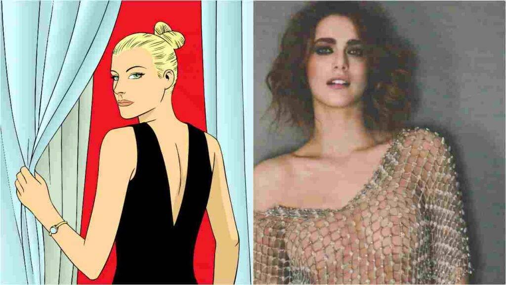 Miriam Leone incanta col vestito di Eva Kant
