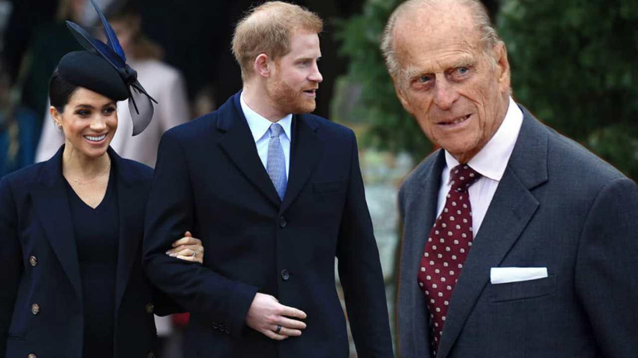 Principe Filippo contro meghan harry