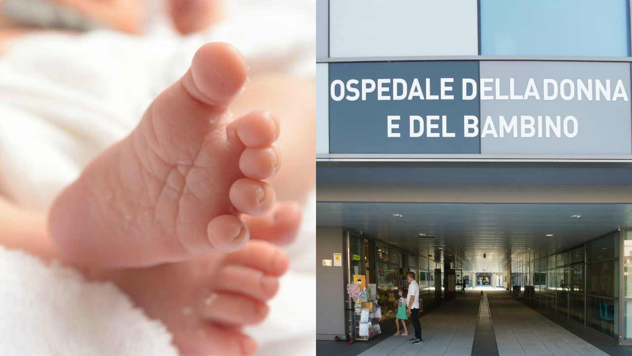 Verona, neonato abbandonato