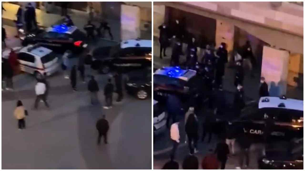 aggressione forze dell'ordine