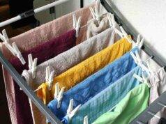 bucato asciugare in casa