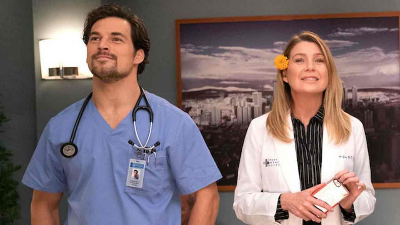 Gray's Anatomy 16- De Luca e Meredith