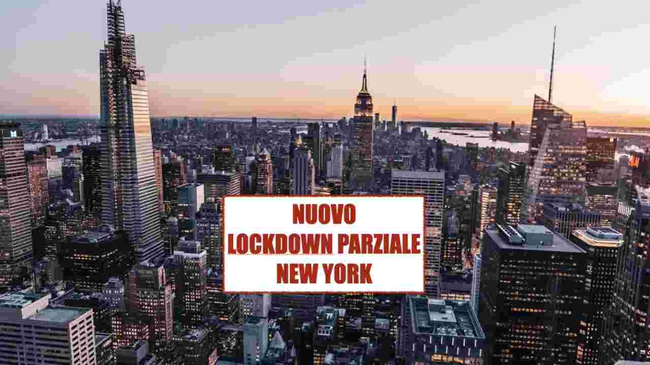 lockdown parziale New york