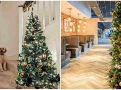 mezzo albero di Natale