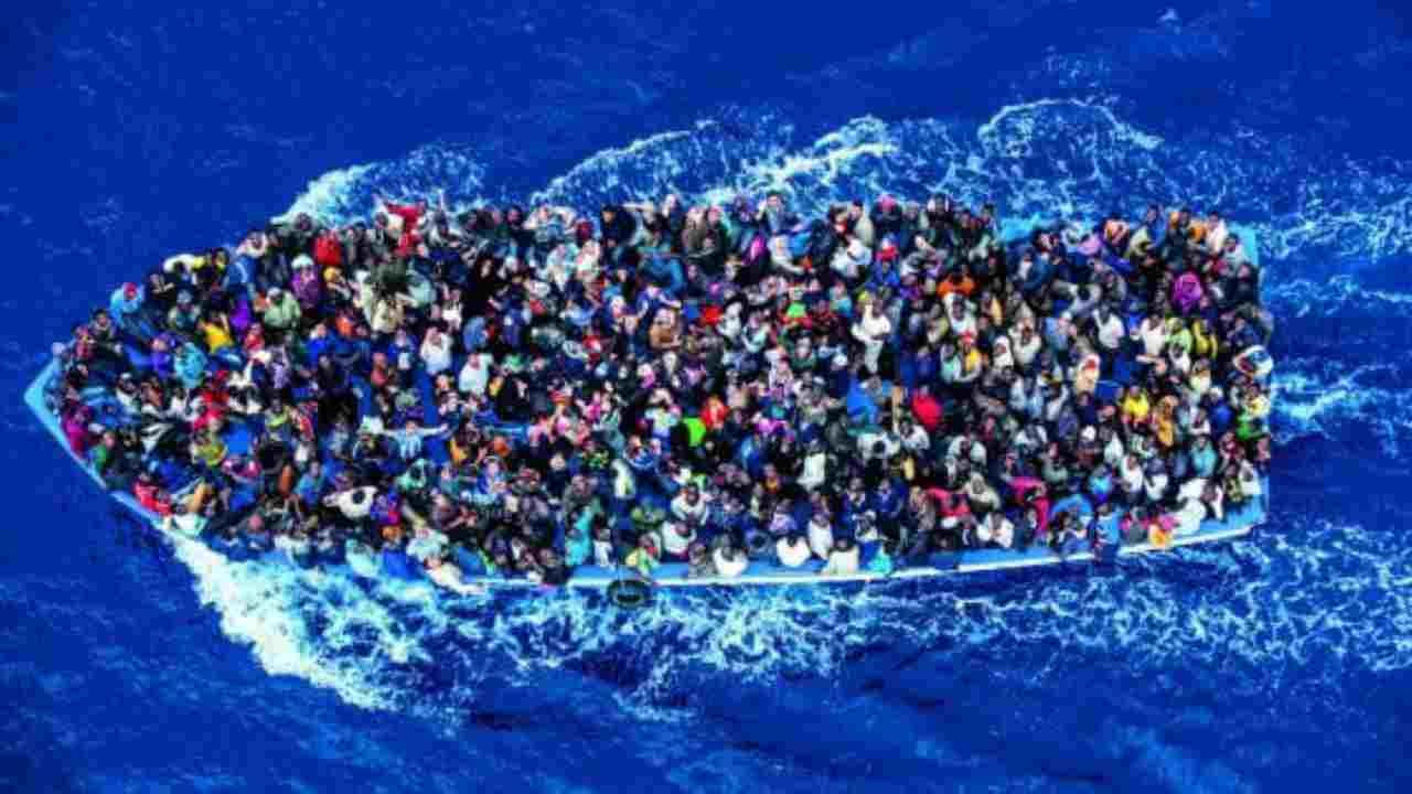 sbarco migranti salento
