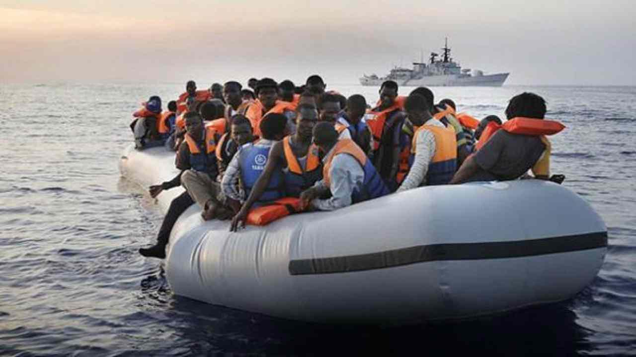 nuovo sbarco migranti