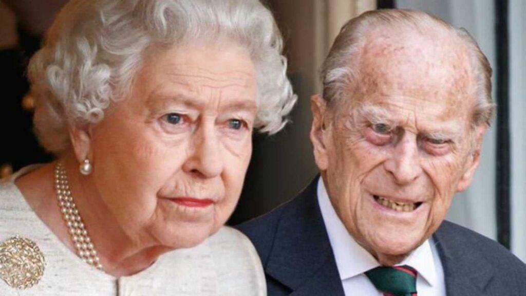 regina elisabetta funerali principe filippo