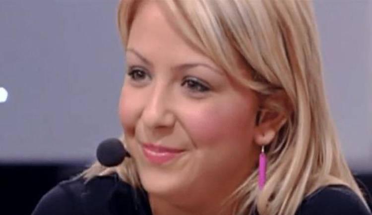 Sabrina Ghio ai tempi di Amici