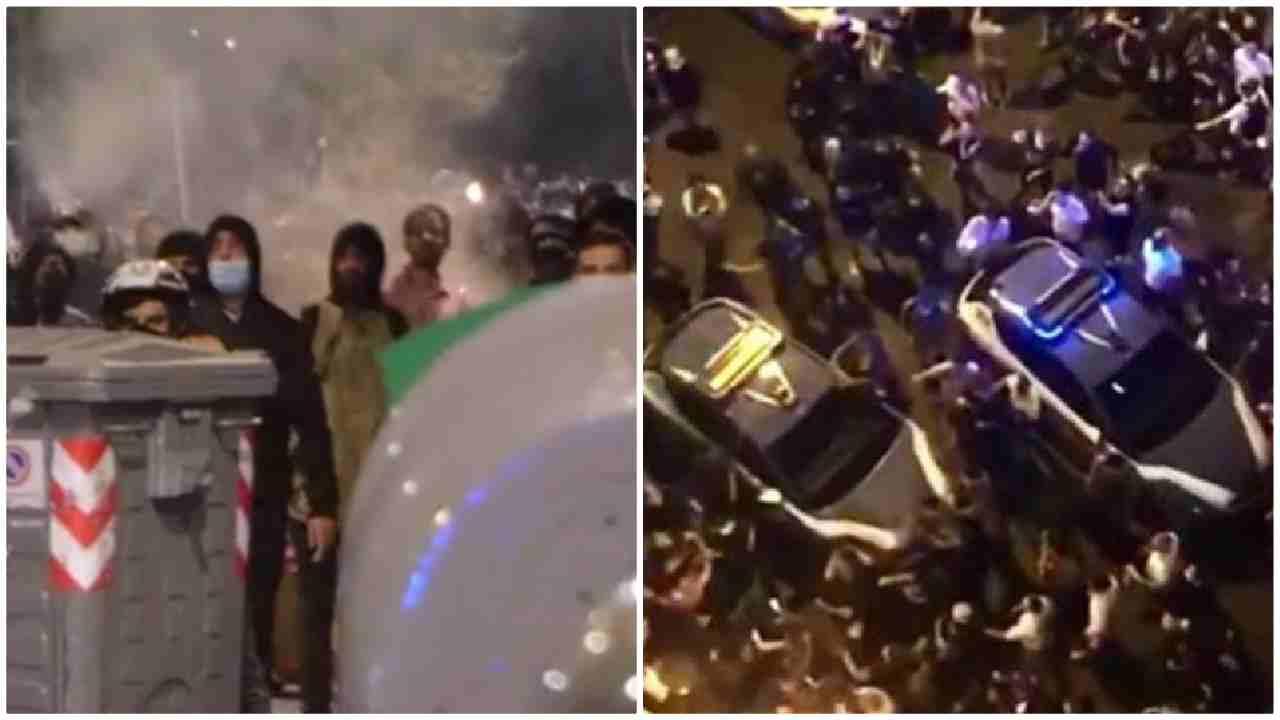 scontri napoli arrestati due pregiudicati