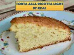 torta alla ricotta light