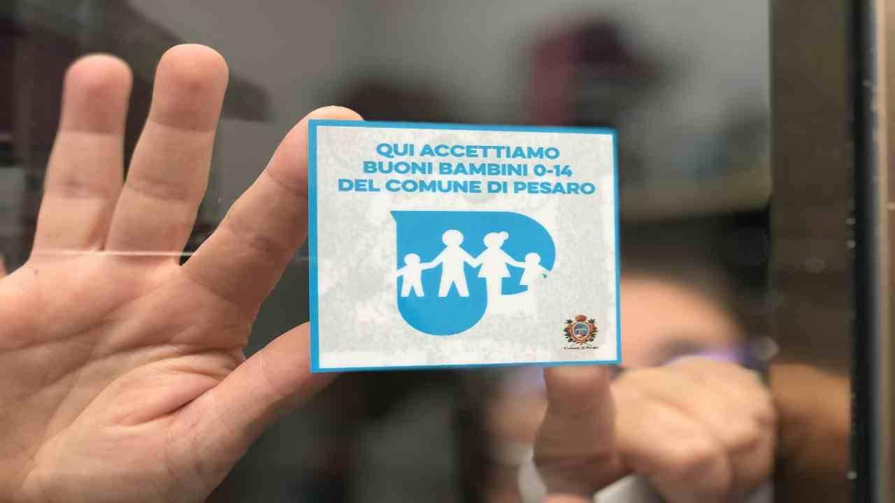 Bonus sticker Bambini