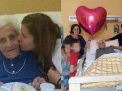 Nonna Maria Orsigher tre volte positiva a 101 anni
