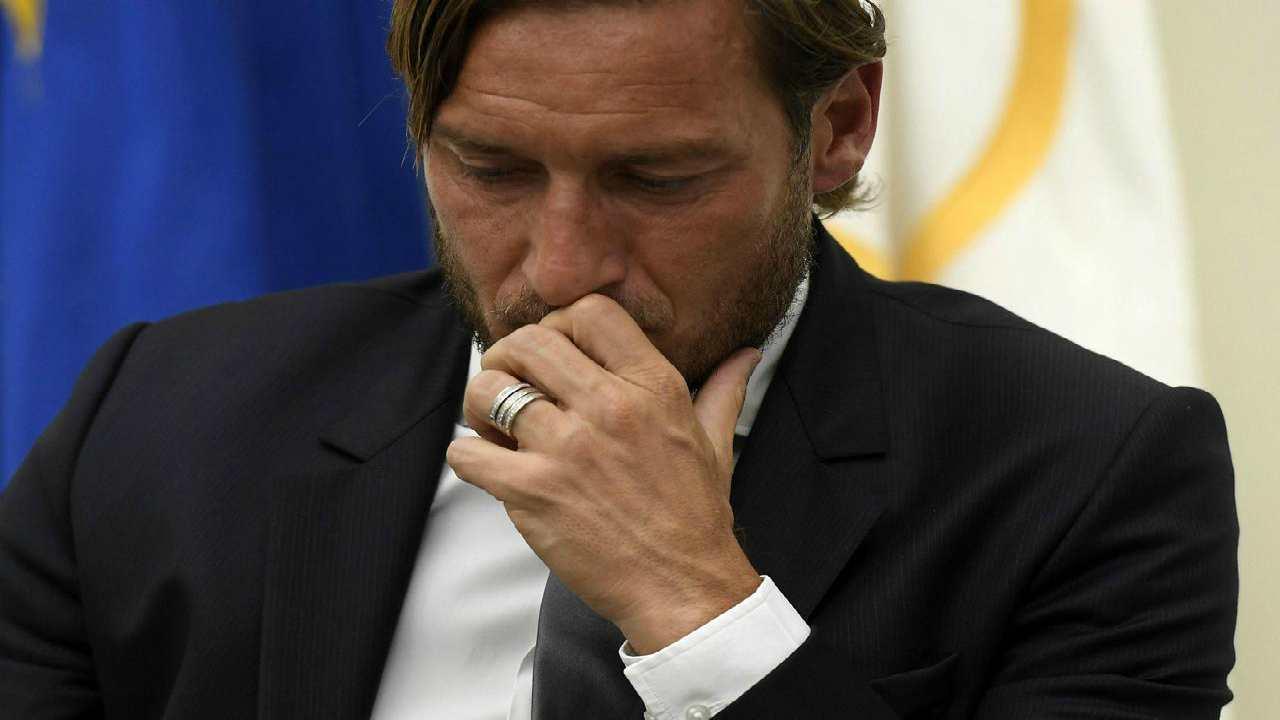 Francesco Totti positivo Covid