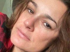 alena seredova positiva al covid, il dramma dell'attrice