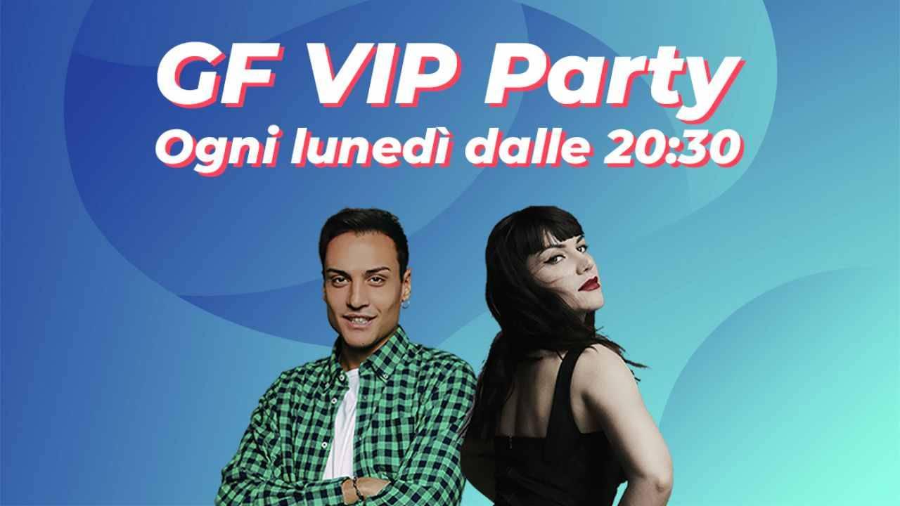 gf vip party anticipazioni