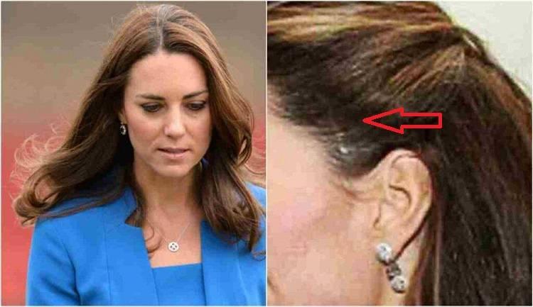 Kate primo piano viso