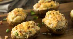 patate con mozzarella e mortadella