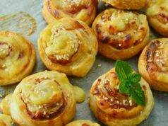 rotolini di patate, prosciutto e formaggio