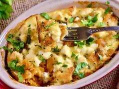 zucca e patate gratinate