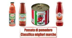 Classifica passata di pomodoro