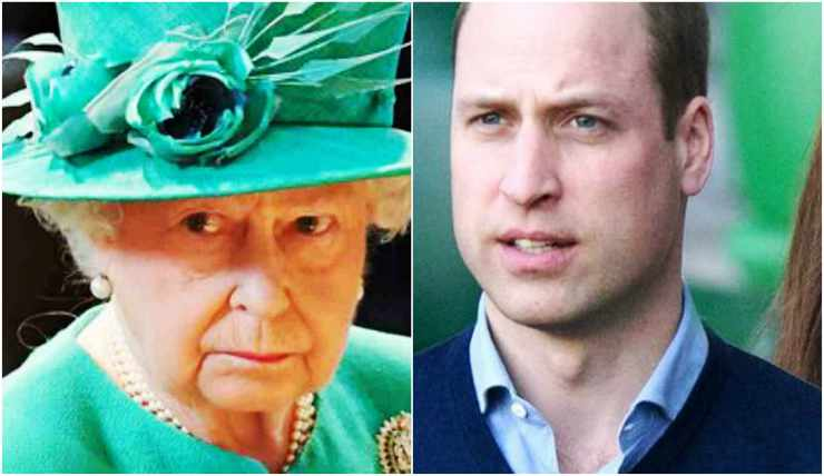 Regina Elisabetta contro William e Kate