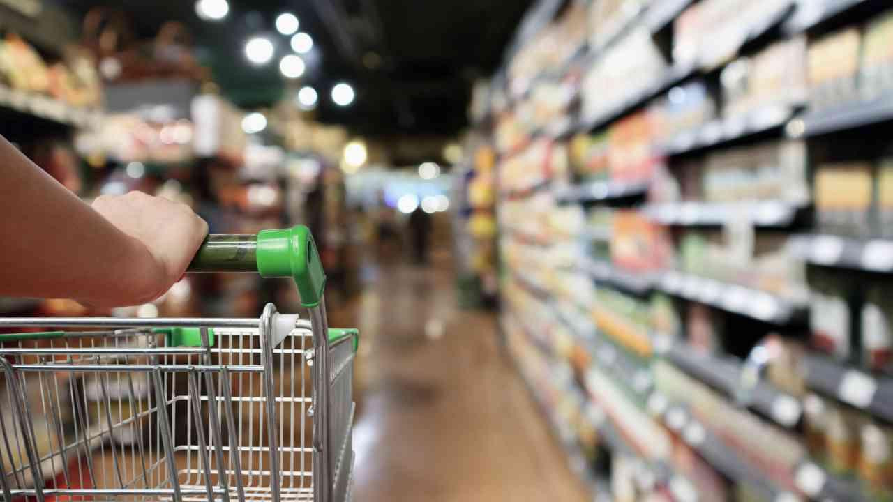 Supermercato e carrello