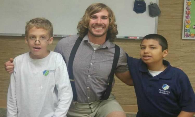 Chris Ulman, insegnante florida disabili