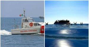 ribaltato barcone di migranti