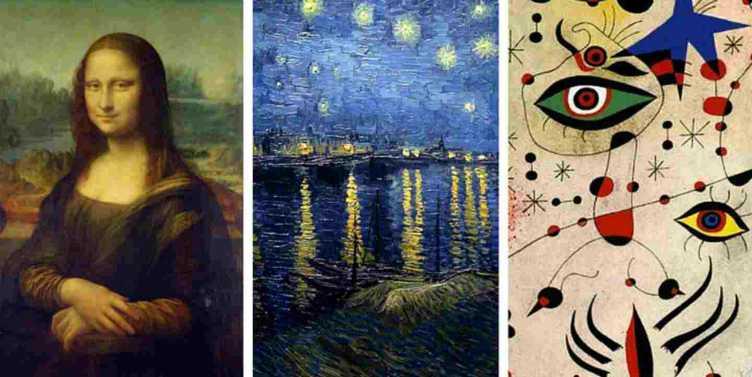 Test: qual è il quadro che più ti piace?