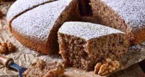 torta autunnale alle noci