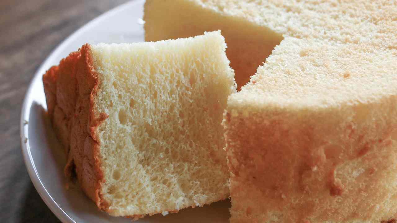torta soffice e alta