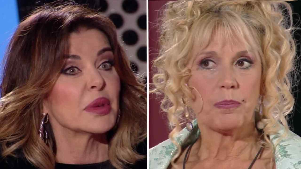 Alba Parietti e Maria Teresa Ruta, GF Vip 5