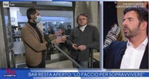 Alberto Matano La vita in diretta lite
