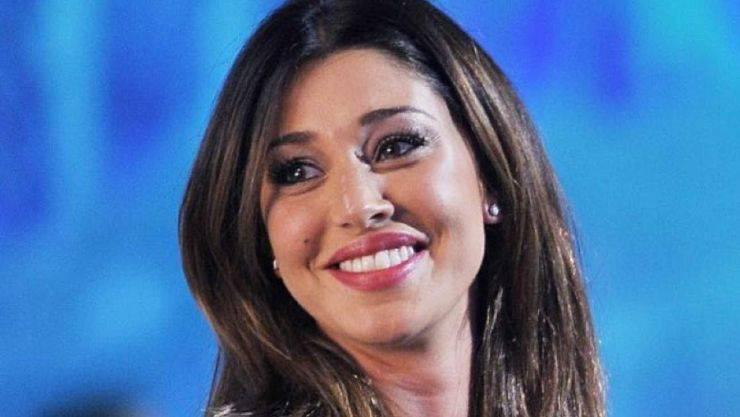 Belen Rodriguez incinta di tre mesi