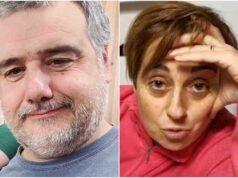 Benedetta Rossi litiga in diretta col marito