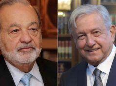 Carlo Slim e Andrés Manuel López Obrado positivi al covid